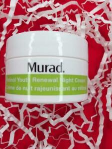 MURAD Retinol Youth Renewal Night Cream .5oz Dlx Travel Size - NEW, FREE SHIP!