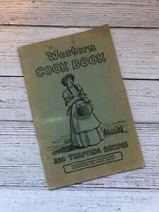 Vintage Western Cookbook 1936 1930's Housewife Recipes Depression Era Mexican