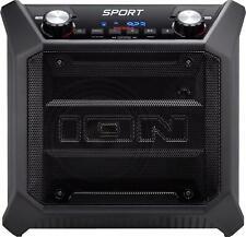 ION Audio Tailgater Sport Portable Bluetooth Speaker - Black USED😢
