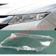 Left Side Headlight Cover Transparent PC + Glue for Honda CITY/Grace 2015~2017