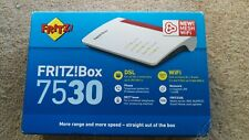 More details for fritz!box 7530 modem router dsl/vdsl/adsl2+ 2.4 + 5ghz dual band new