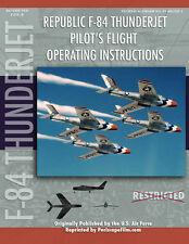 Republic F-84 THUNDERJET Pilot's Flight Manual