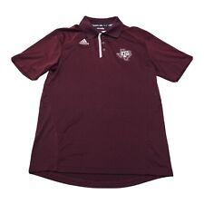 New listing Texas A&M Adidas Polo Shirt Mens Size Small Aggies Climalite Stretch Golf Maroon