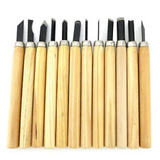 12pcs Wood Carving Hand Chisel Set Kit Woodworking Tools for Beginner Yo