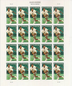US 4803 Black Heritage Althea Gibson forever sheet (20 stamps) MNH 2013