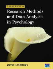 Introduction to Research Methods and Data Analysis in Psychology by Darren Lang…