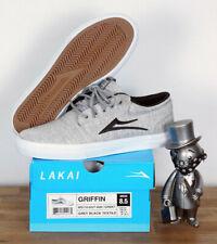Lakai Footwear Skate Schuhe Shoes Griffin Grey Black Textile 5,5/38