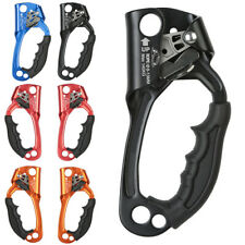 Hand Ascender Rock Tree Climbing 8-13mm Rope Clamp Caving Rescue Gear Useful New