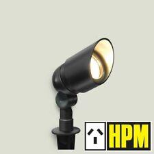 4 X HPM 12V Garden Light Spotlight 10W DIY Aluminium Black IP67 RGLVSBL
