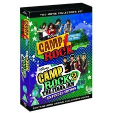 Camp Rock 1 + 2 Region 2 ( Disney 2 Discs) New