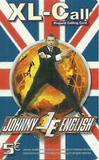 RARE / CARTE TELEPHONIQUE PREPAYEE - MISTER MR BEAN JOHNNY ENGLISH / PHONECARD