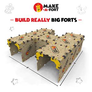 Make-A-Fort Building Kit for Kids - Box Fort - Build a Fort