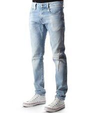 "G-Star Raw 3301 Uomo Sottile Jeans 30 ""X 32"" NUOVO CON ETICHETTA NIPPON Stretch Denim LT AGED S M"