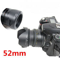 52MM Reversible Petal Flower Lens Hood for Nikon D7000 D5200 D5100 D3200 D3100