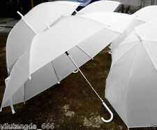 New Pure white umbrella transparent umbrella Parasol For Wedding Favor