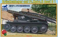 Bronco 1/35 35089 Bruckenleger auf Pz.Kpfw II Ausf D1 free shipping Hot