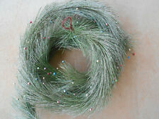 Midwest Glittered and Beaded Every Green Garland 6 Feet long Wreaths Decoration
