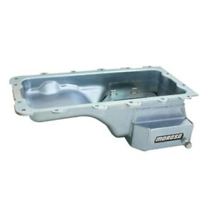 Moroso 20546 Oil Pan Steel Clear Zinc 7 qt. For Ford Mustang 4.6L NEW