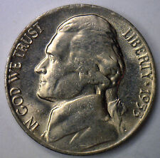 1953 S Jefferson Nickel UNC Five Cent Choice Coin from Roll Made in USA #R