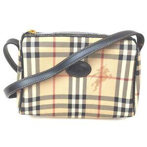 Burberrys Shoulder Bag  Beiges PVC 840769