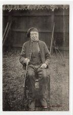 JOHN GREEG, LOCAL WORTHY, STRATHAVEN: Lanarkshire postcard (C23086)