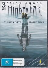 CRISS ANGEL - MINDFREAK - THE COMPLETE SEASON 4 on 3 DVD'S -  18 EPISODES