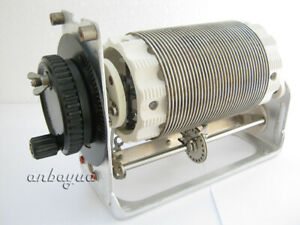 VARIABLE ROLLER INDUCTOR COIL -RF LINEAR AMPLIFIER -ANTENNA TUNER-WITH COUNTER