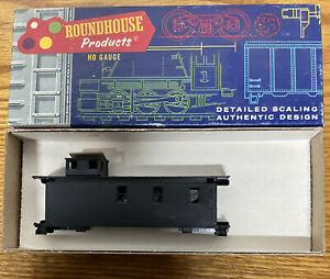 Roundhouse Caboose undecorated train car