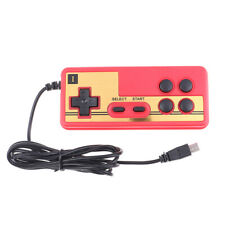 Wired 8 Bit TV Red and White Machine Video Game Player Handle Gampad Control G3