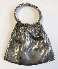 Moyna chain mesh rhinestone beaded vintage bag purse handbag