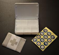 Pillendose Pillenbox 5 Fächer mini Apotheke Tablettenbox Tablettendose Tagesbox