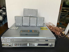 DVD/VCR Combo Home Theater In Great Working Condition With Remote VCR Recorder