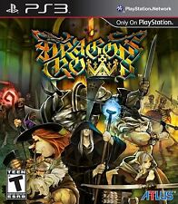 Dragon's Crown PlayStation 3 PS3 Brand New and Free Shipping