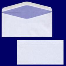 100x Briefumschlag DL-C5/6 220x110mm 75gr NK OF weiß