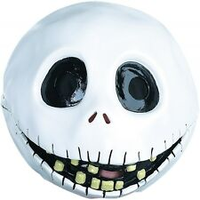 Jack Skellington Mask Nightmare Before Christmas Costume Halloween Fancy Dress