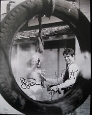 WARREN BEATTY & FAYE DUNAWAY SIGNED 'BONNIE & CLYDE' 11X14 PHOTO AUTOGRAPH JSA