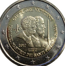 More details for vatican 🇻🇦coin 2€ euro bunc in folder 2017 martyrdom 1950y saint peter & paul