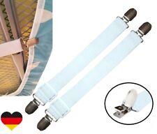 2x Bügeltischspanner Spannclips Bezugspanner 24-70 cm Stuhlbezug Spanner Bett