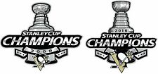 Pittsburgh Penguins 2016 and 2009 Stanley Cup Champions NHL Decal/Sticker