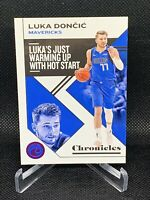 Luka Doncic Panini NBA Chronicles 19-20 Pink SP Parallel No 15 Dallas Mavericks!
