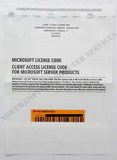Microsoft Windows Server 2008 Terminal Server 5 CAL RDS OEM - SE525787 X14-68072