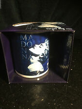 Madonna COFFEE MUG TRUE BLUE style #2 rare NEW IN BOX Licensed Rebel heart mdna