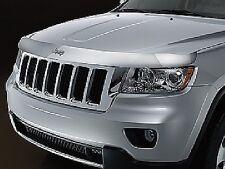 2011-2017 Jeep Grand Cherokee Chrome Bug Shield Deflector Mopar 82212046 OEM
