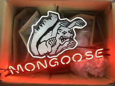 """Vintage Mongoose Bicycle Neon Sign Mid-School -- about 30"""" x 20"""""""