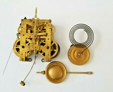 Antique New Haven Brass 8-Day Key Wind Clock Movement
