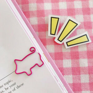 Animals Pig Paper Bookmark Stationery Souvenir Collection Decoration Kids Gift