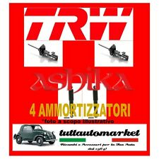 KIT 4 AMMORTIZZATORI ANTERIORI + POSTERIORI FIAT MULTIPLA BIPOWER JGM602T