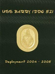 USS Barry (DDG 52) 2004-2005 Deployment Cruisebook