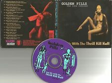 MY LIFE WITH THE THRILL KILL KULT Golden Pillz THE LUNA REMIXES CD LIMITED PRESS