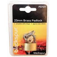 25mm Brass Mini Luggage Suitcase Shed Door Cupboard Lock Padlock & Keys